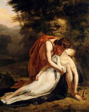 Wien_Rilke_Ary_Scheffer_-_Orpheus_Mourning_the_Death_of_Eurydice,_1814_wiki.jpg